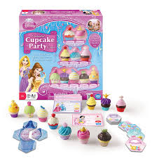 amazon com disney princess enchanted cupcake party game toys u0026 games