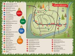 Christmas Map 2016 Ozark Mountain Christmas Tree Contest