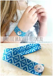 diy bracelet elastic images Elastic bracelet diy png