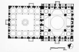 floor plan of mosque sehzade mosque mit libraries
