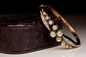 diamond bracelet bangles images Antique diamond bangle bracelets gold diamond bracelet c 1890 jpg