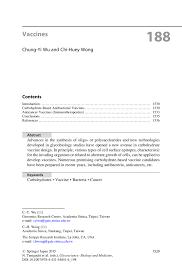 pta resume sample vaccines vaccine springer glycoscience biology and medicine glycoscience biology and medicine