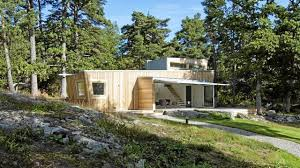 modern cabin in sweden low impact home youtube