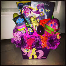 Decorating Easter Basket Ideas by Diy My Little Pony Easter Basket Can Get Mlp Stickers To