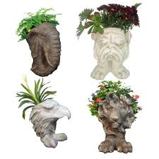 lion statue home decor homestyles muggly mascot small animal statue planters lion eagle