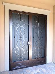 security doors artistic iron works ornamental wrought