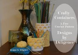 crochet home decor free patterns craftycontainerswide jpg 1600 1138 crochet home decor