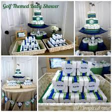 golf themed baby shower diy inspired