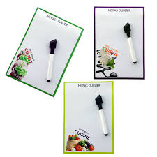 memo cuisine cuisine printed erase magnetic whiteboard message board