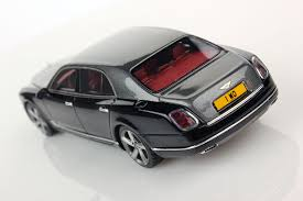 bentley mulsanne blacked out bentley mulsanne speed 1 43 looksmart models