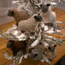rf530s fuzzy sheep ornament