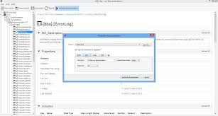 database documentation generator for sql server sql doc