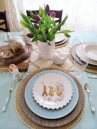 Spring Table Settings Spring Table Setting U2013 Modern Day Brown Mom