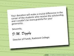 appreciation letter sle appreciation letter to