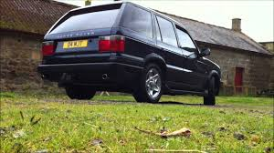 2000 land rover green range rover p38 4 6 v8 hse exhaust youtube