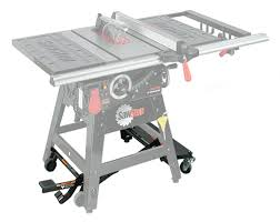 table saw mobile base contractor saw mobile base lee valley tools