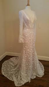 v neck long sleeve wedding dresses inspired by inbal dror