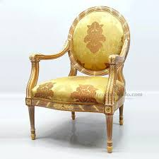 Scs Armchairs Italian Chairs Antique Gold Wood Frame With Gold Velvet