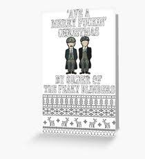 order christmas cards by order of the peaky blinders greeting cards redbubble