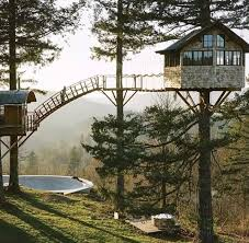 Simple Backyard Tree Houses by 25 Best Beautiful Tree Houses Ideas On Pinterest Tree House