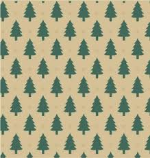 gift wrap christmas trees kraft gift wrap wrapping paper