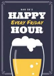 happy hour sign template 28 images chalk vintage happy hour