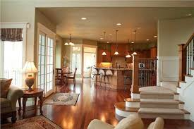 Kitchen And Living Room Open Floor Plans Open Concept Floor Plan Ideas The Plan Collection