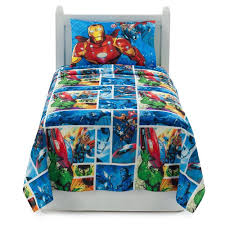 amazon com marvel avengers 7 piece bed in a bag full size bedding