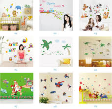 wholesale removable home decals kids room wall stickers nursery