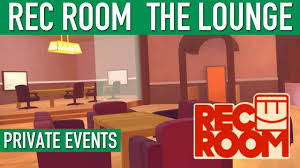 rec room the lounge tour vr private events youtube