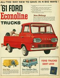 e series pickup history ford econoline truck 1961 1967 key features