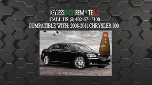 how to replace chrysler 300 key fob battery 2008 2009 2010 2011