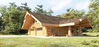 log home floor plans with garage log home and log cabin floor plans pioneer log homes of bc