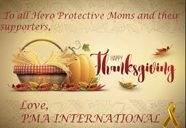 happy thanksgiving and thank you for your support protective