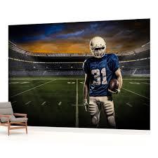 american football stadium photo wallpaper wall mural room american football stadium photo wallpaper wall mural room 1114veve ebay