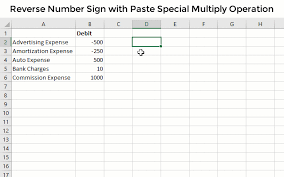 2 ways to reverse number signs positive negative in excel excel