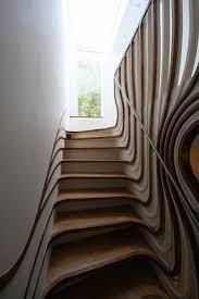 holz fã r treppen wohnung ausbau innen treppe holz design modern architekur