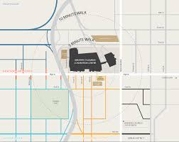 Columbus Ohio Maps by Area Map Greater Columbus Convention Center