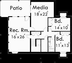 5 Bedroom Floor Plans With Basement Amazing A Frame House Plan Central Oregon House Plan 5 Bedrooms