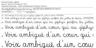 expertise graziella pettinati inc de caractères isabelle