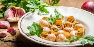 escargot cuisiné escargots au beurre d ail recettes femme actuelle