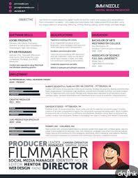 College Interview Resume Template 15 Videographer Resume Sample Cosas Que Ponerse Pinterest Cv