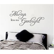 zooyoo removable colorful cute good night 3d wall sticker