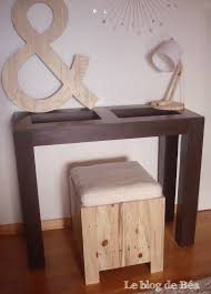 fabrication de coffre en bois diy astucieux tabouret en bois de palette le blog de béa