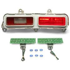 dakota digital led tail lights 1971 chevy belair led tail lights dakota digital lat nr390