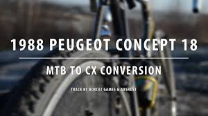 peugeot concept bike building a cyclocross bike for under 300 1988 peugeot concept