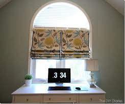 No Sew Roman Shades Instructions - 119 best window treatments images on pinterest window coverings
