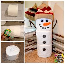 the keeper of the cheerios toilet paper snowman craft christmas