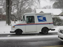 postal vehicles file usps vehicle in the snow 2011 02 09 memphis tn jpg