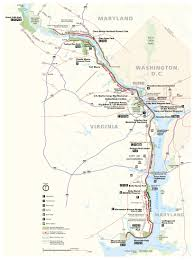 Virginia Capital Trail Map by George Washington Memorial Parkway Find Your Chesapeake